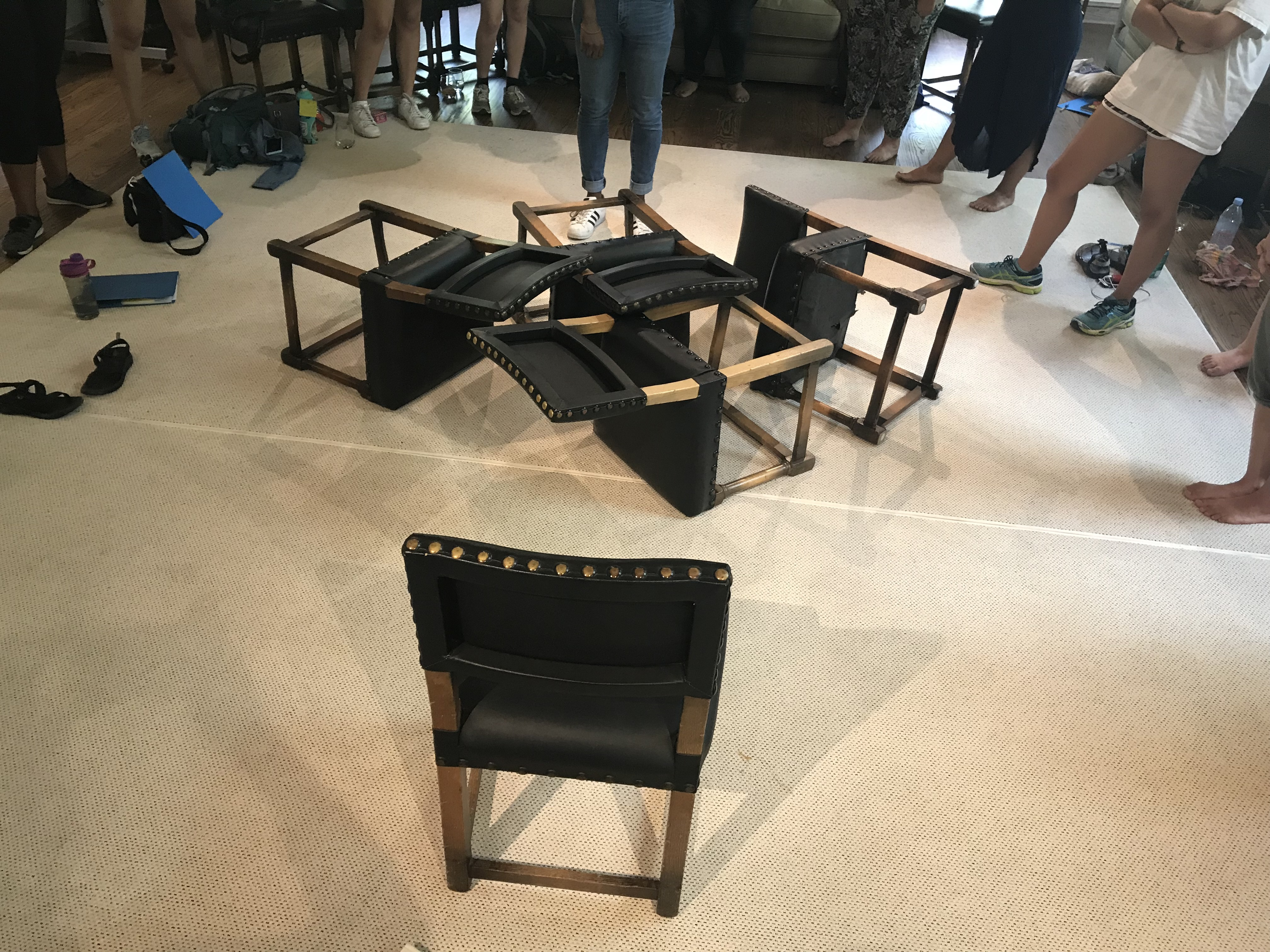 picture of chairs on ground