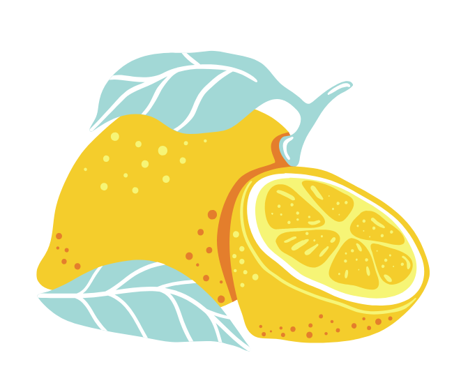 illustrated lemon