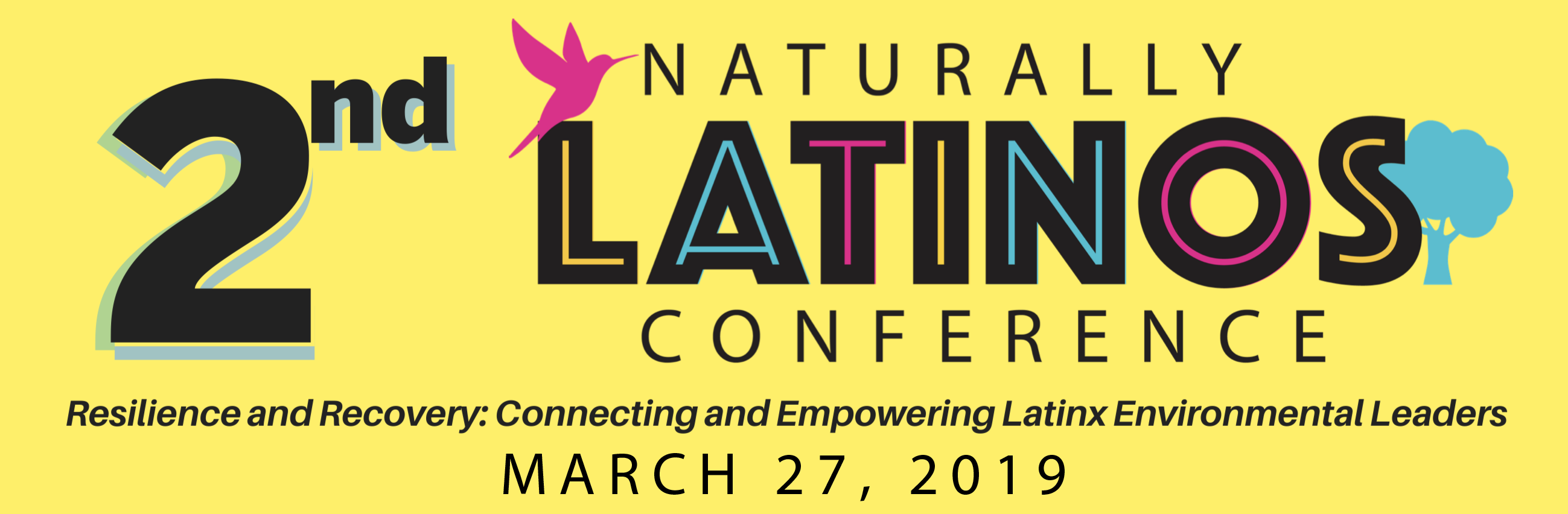 Flyer for Naturally Latinos