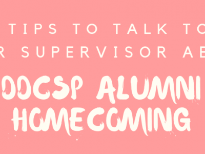 blog header: 6 tips to talk to your supervisor