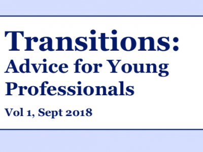 Transitions: Advice for Young Professionals Title Page